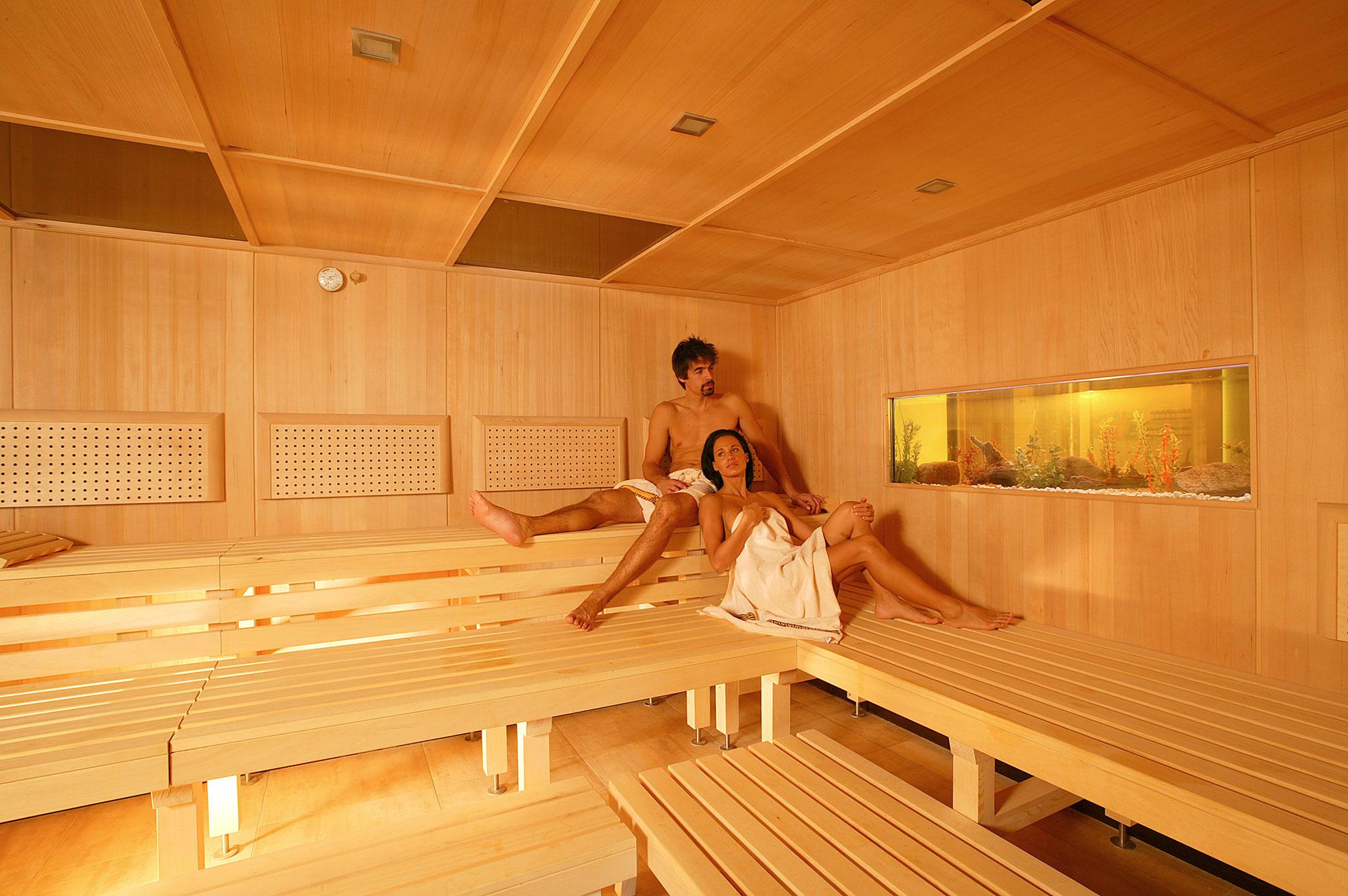 The sauna world in the Hotel Jerzner Hof